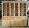 French Natural Book Cabinet