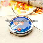 Gorgeous girl comestic mirror for new year gifts