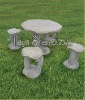 hand carving stone garden table