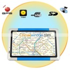 Bule 5 Inch Portable TFT Touch Screen GPS Navigator with GPS Map