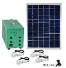 mini solar power lighting system (S02 Serie 15W 25W 40W 50W with MP3)