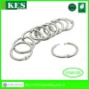 Bulk Wholesale Nickel Plated 30mm Iron Binder Rings