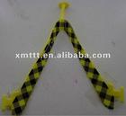 Rubber V pvc strap upper for slipper