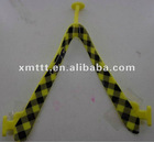 Rubber V pvc strap upper for slipper