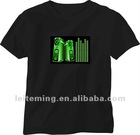 DJ Music sound Activated led sound activated t-shirts