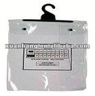 new design clear pvc hanger bag