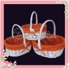 2012 Hottest Hand-woven small storage baskets with lids