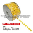 plastic safety barrier chain,road safety