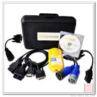 Multi-language Heavy Duty Diagnostic King Multi Diesel Diagnosis Interface Yellow with promotion price (ADT017)