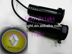 CarDecoration Projection 3W logo light Laser LED photoelectricity lamps for car renault