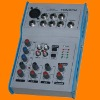 compact audio mixer,mixing console with amplifier,DJ equipment,mini mixer