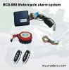 BCS-888 one-way motorcycle alarm with remote engine start