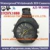 4GB Waterproof IR Night Vision Wristwatch HD Camera DVR Video 1920X1080 Photo 4032x3024 WAV Audio Recording AT-W2000