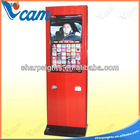 42'' Standing Touch Screen with Coupon Printer