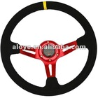 Wonderful Red Leather Car Steering Wheels