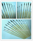 13 pcs/set wood handle nylon hair artist painting brush