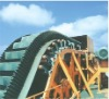 Resistant rubber endless conveyor belt
