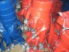 Red PVC layflat hose
