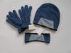 Polar Fleece gloves hats head band sets