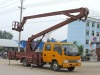 double row JAC high working truck