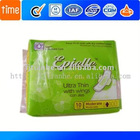 sanitary pads, from 140mm to 335mm
