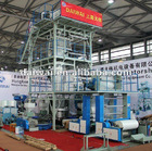 3 layer extruder blowing plastic film machine width 800-1300(Chianplas fair show)