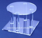 durable and healthy plexiglass wedding cake display wedding cake stand