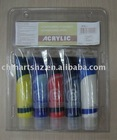 5x60ml Painting Acrylic Color Set