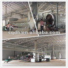 Dong He tires refinery machine which end products is tire oil and carbon black and steel wire