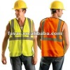fluo orange vest for high visibility,for the cop, trafic police wear