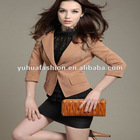 2012 autumn fashion nine points sleeve Ladies Jacket