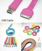 New hot Noodle USB Cable for iPhone 4S 4G 3GS iPad 3 new iPad