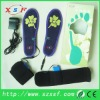 lady shoe pads battery heated shoe insole to keep warm in cold days best gift for women with CE & ROHS