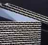 aluminum corrugated panel for exterior/interior decoration