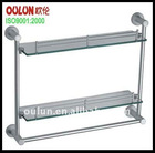 OEM glass shelf with towel bar