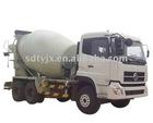 concrete mixer truck (construction machinery)