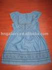 Ladies' denim dress