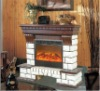 Remote control Wall -mounted electric fireplace