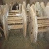 Solid or ply wooden reel package made according to clients' demands