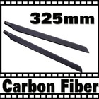 carbon fiber 325mm black main blade for trex 450