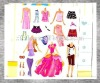 children magnetic dress up