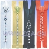 Rhinestone Zipper Garment Accessories