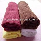 Solid microfiber towel