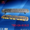 multi voltage Amber color led emergency lightbar