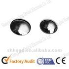 Flat-convex led optical lens