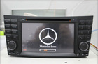 7 inch car dvd player fit for mercedes with gps navigation