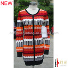 2013 New Design Striped lady Dress sweater ODM/PEM