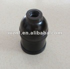 E27 NF 210s Black Bakelite Lamp Holder for Indonesia