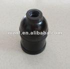 E27 NF 210s Black Bakelite Lamp Holder for Indonesia