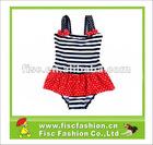 2012 Fringe Design Swimwear For Young Girls